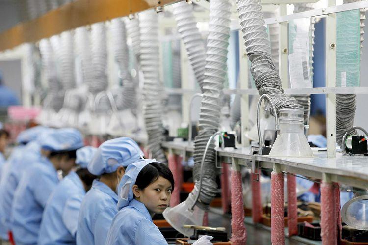 2010 usine chinoise électronique