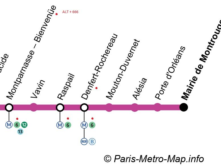 Metro 666